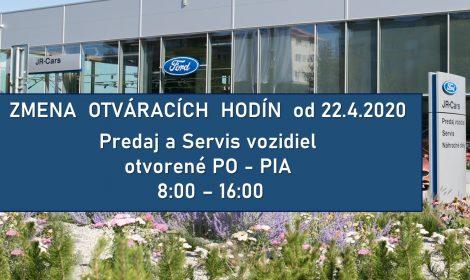 Opäť otvorená predajňa vozidiel Ford v Žiline.